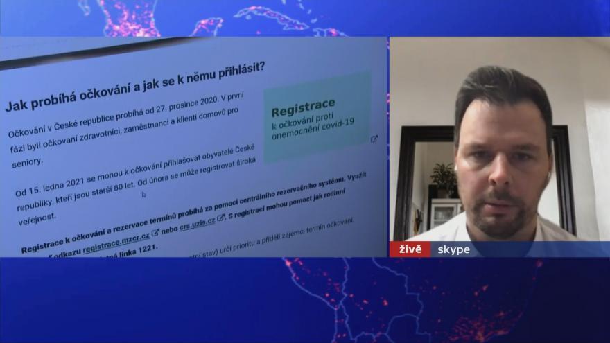 Video 90' ČT24 - Jak proočkovat Česko?