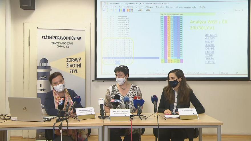 Video Tisková konference Státního zdravotní ústavu z 19. ledna