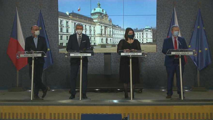 Video Brífink po jednání vlády 25. ledna