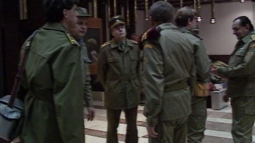 Video Podpora pro československou protichemickou jednotku