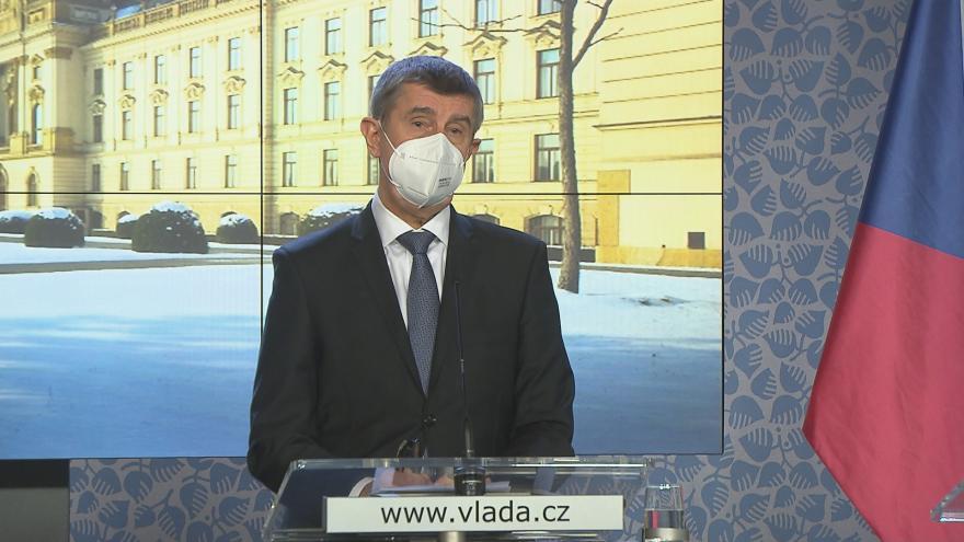 Video Studio ČT24: Brífink premiéra vlády Andreje Babiše (ANO)