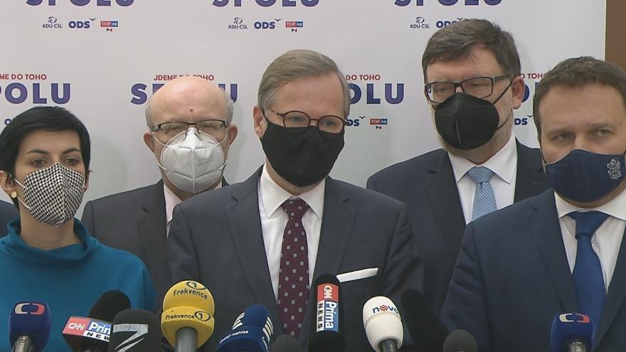 Video Koalice Spolu nepodpoří delší nouzový stav