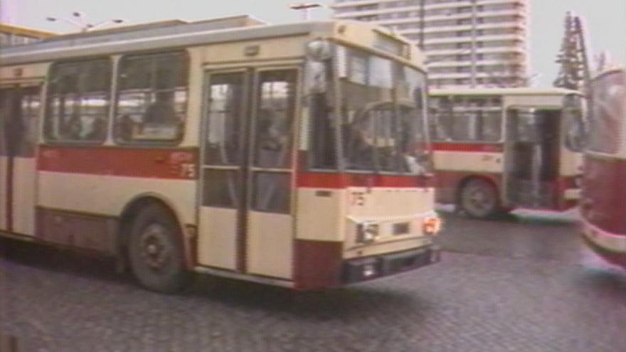 Video Praha plánuje návrat trolejbusů