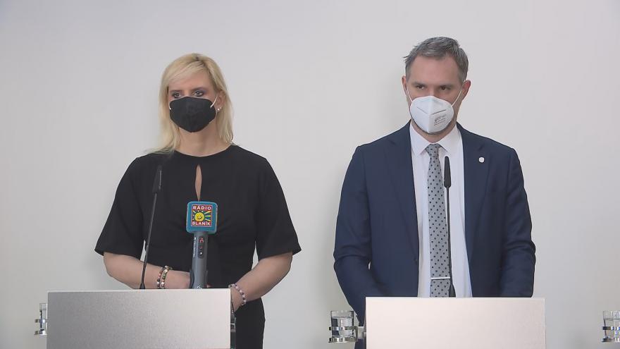 Video Brífink k vyjádření Prahy a Středočeského kraje k ukončení nouzového stavu 12. února