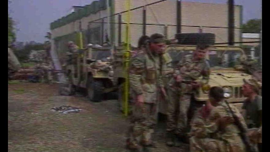 Video Ukončení války v Perském zálivu a operace Pouštní bouře