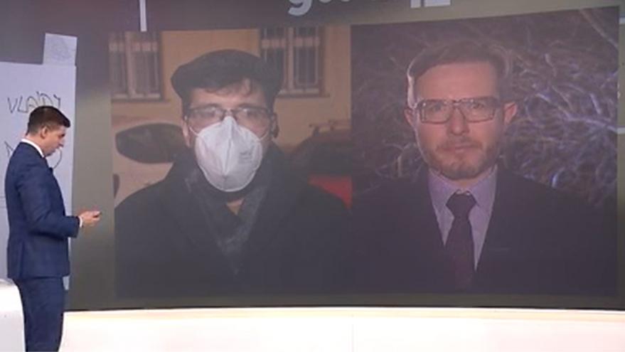 Video 90' ČT24 - Pandemický zákon ve sněmovně