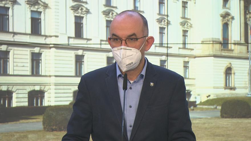 Video Brífink ministra zdravotnictví Blatného po jednání vlády 19. února