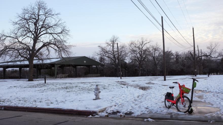 Video Studio ČT24: Filip Dvořák o mrazivém počasí v Texasu