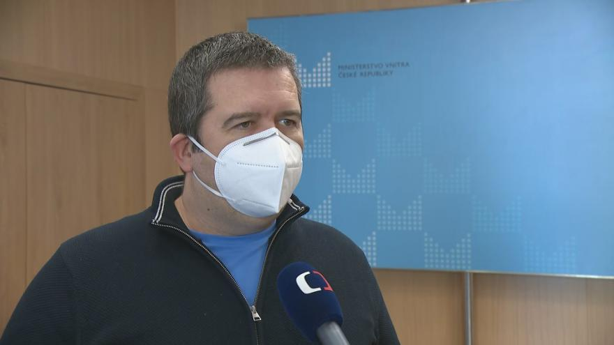 Video Ministr vnitra Hamáček k testování žáků po návratu do škol