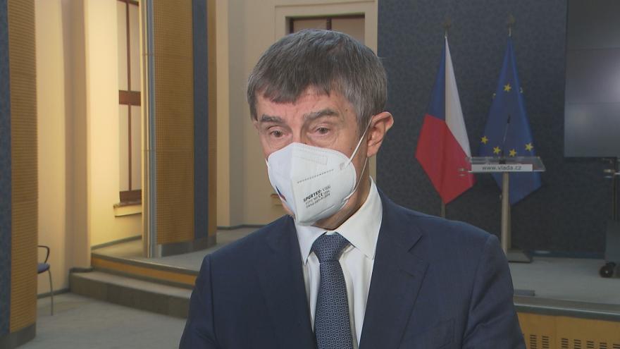 Video Premiér Babiš o jednání s opozicí kvůli epidemii covid-19 z 23. února