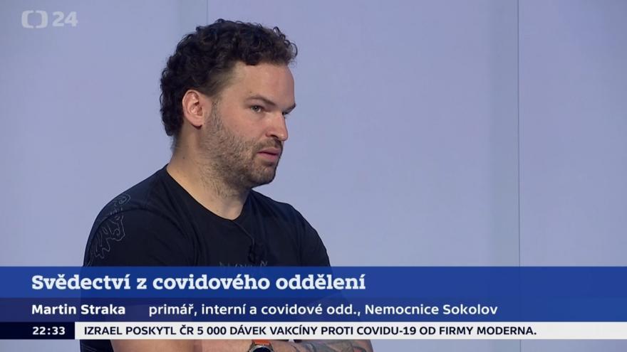 Video Události, komentáře: Primář Nemocnice Sokolov Martin Straka