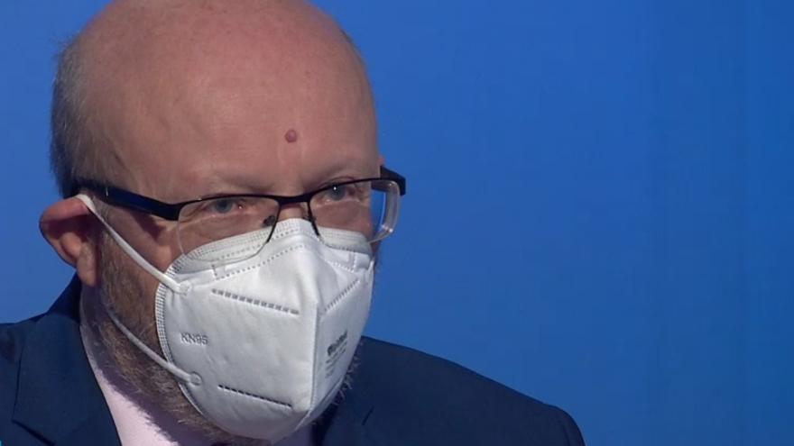 Video Hostem Interview ČT24 byl člen výboru pro zdravotnictví Vlastimil Válek