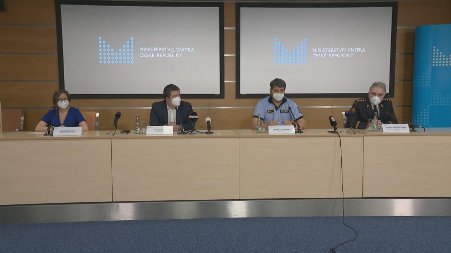 Video Brífink po jednání krizového štábu z 10. března