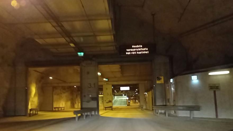 Video Podzemní tunel vede také pod historickým centrem Helsinek