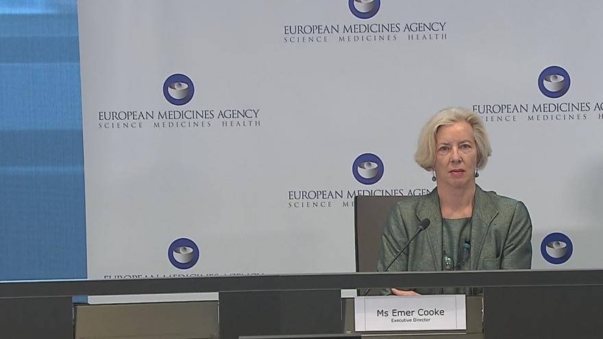 Video Brífink Evropské lékové agentury o očkování AstraZenecou