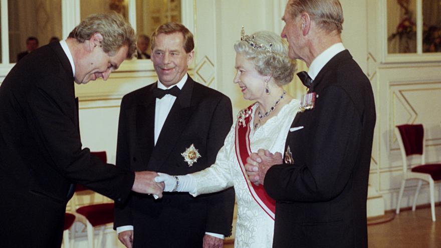 Video Události: Návštěva britské královny v roce 1996