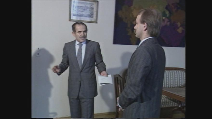 Video Vyhoštění čtyř pracovníků iráckého velvyslanectví