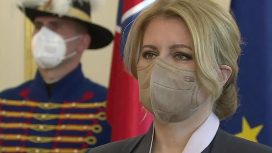 Video Slovenská prezidentka Zuzana Čaputová jmenovala novou vládu