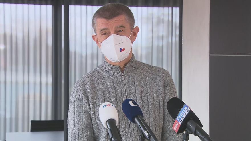 Video Vyjádření premiéra Andreje Babiše 2. dubna 2021