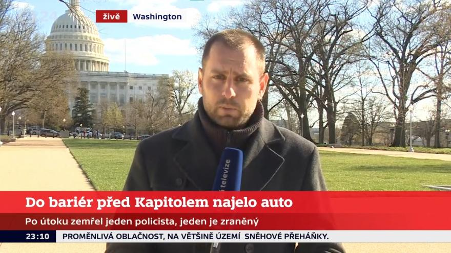 Video Zpravodaj David Miřejovský o útoku ve Washingtonu