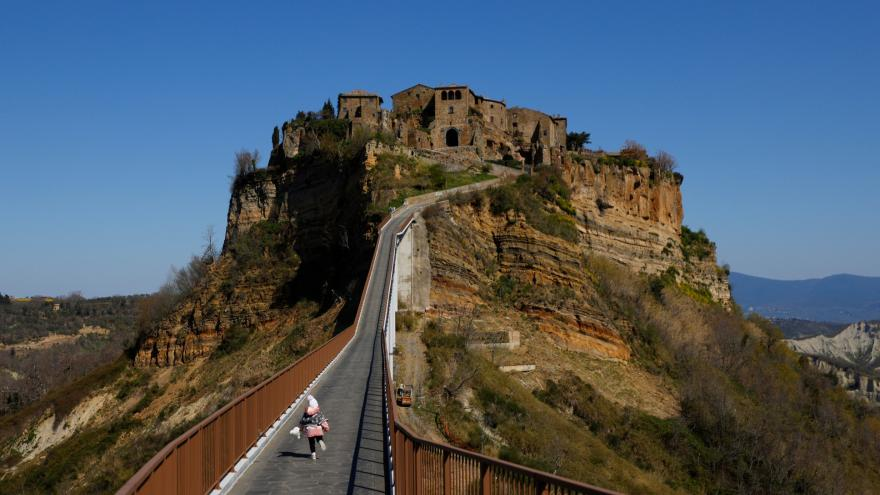 Video Horizont ČT24: Civita di Bagnoregio jako kandidát do UNESCO