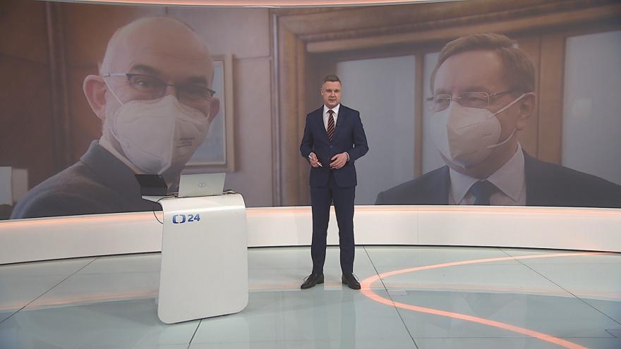 Video 90' ČT24: Výměna ministra zdravotnictví