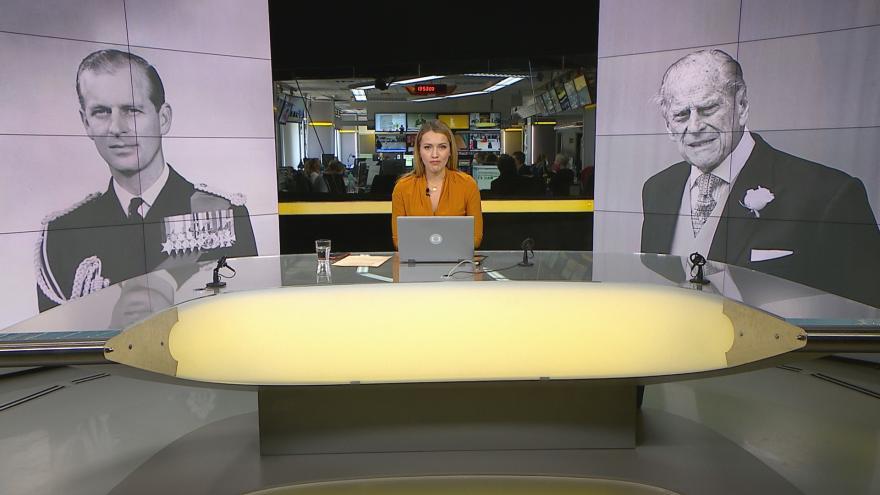 Video Studio ČT24 - Zemřel britský princ Philip