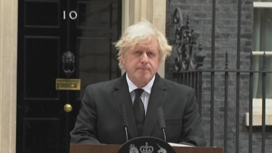 Video Tisková konference britského premiéra Borise Johnsona k umrtí prince Philipa