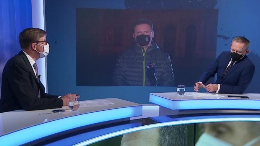 Video Radek Vondráček a Martin Kupka k informacím o cestě do Moskvy Jana Hamáčka