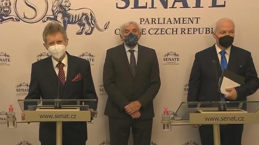 Video Senát k informacím okolo výbuchu ve Vrběticích