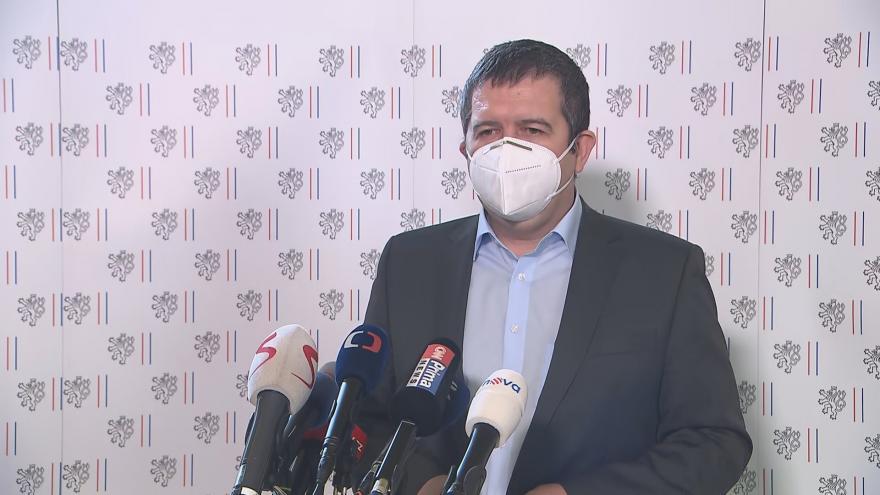 Video Brífink ministra Hamáčka jednání ministrů zahraničí EU o případu Vrbětice