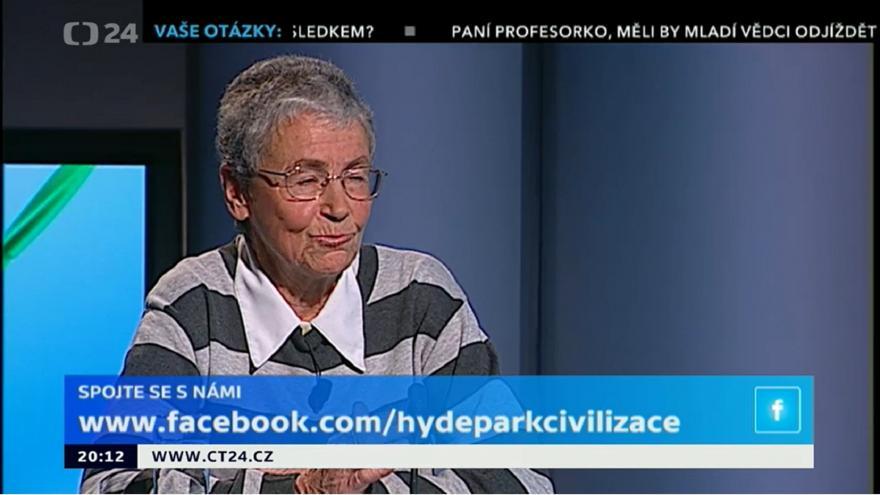 Video Hyde Park Civilizace - Helena Illnerová