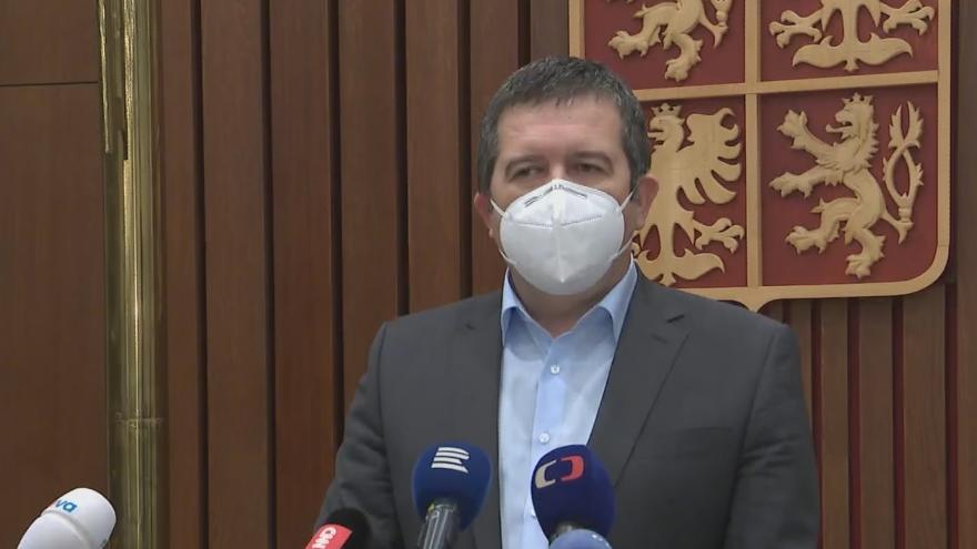 Video Brífink ministra Hamáčka k návratu českých diplomatů z Moskvy