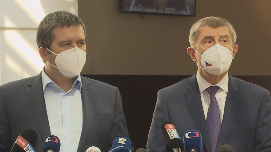 Video Brífink premiéra Babiše a vicepremiéra Hamáčka k dalšímu postupu v kauze Vrbětice
