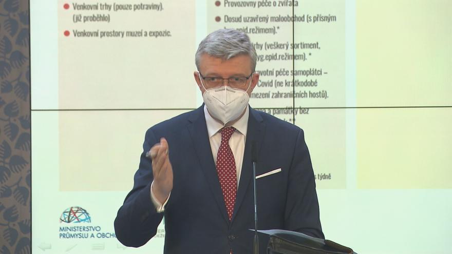 Video Tisková konference po jednání vlády z 22. dubna