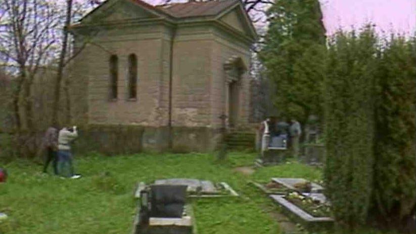 Video Vyloupená rodinná hrobka rodu Dobřenských z Dobřenic