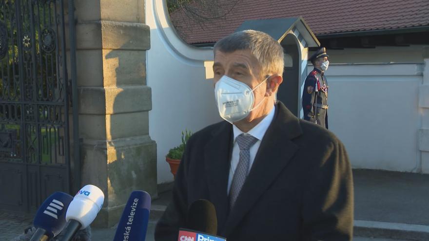 Video Premiér Andrej Babiš jednal s prezidentem Milošem Zemanem v Lánech