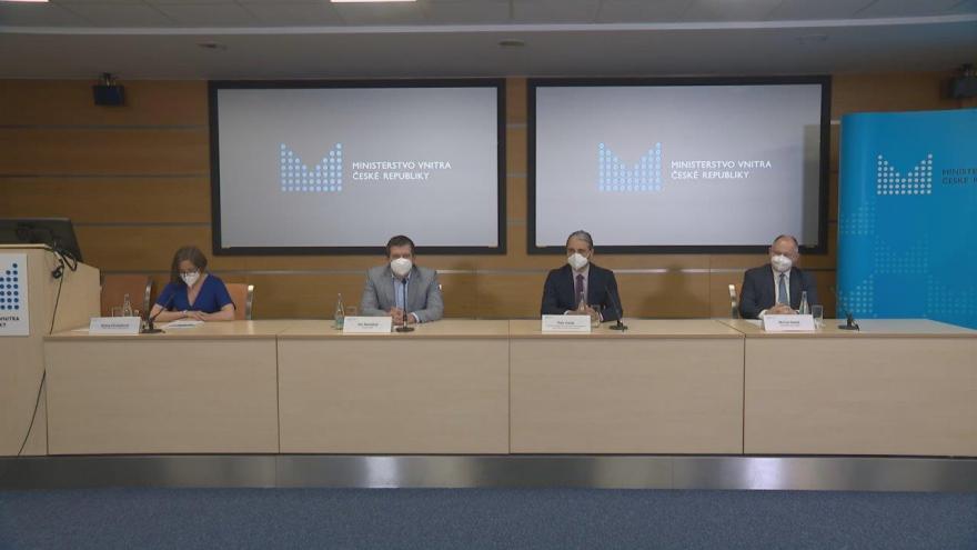 Video Tisková konference vicepremiéra a ministra vnitra Jana Hamáčka (ČSSD)