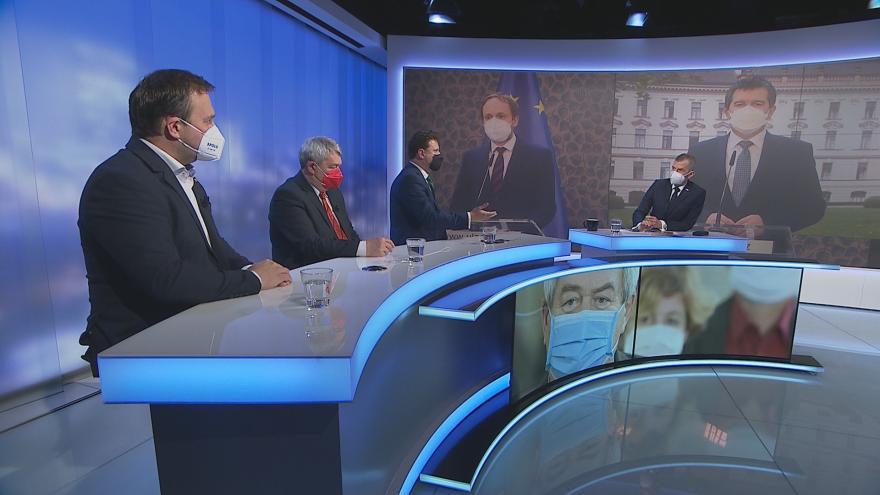 Video  Události, komentáře: Nedůvěra vládě