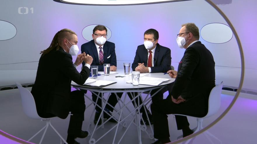 Video Otázky Václava Moravce (2. 5. 2021)