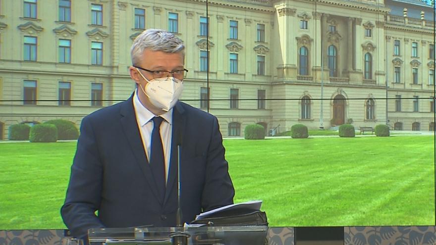 Video Brífink po jednání vlády 14. května