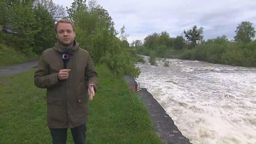 Video Studio 6: Deště zvedly hladiny řek na Moravě a ve Slezsku