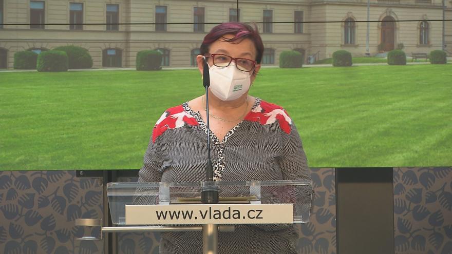 Video Brífink vlády o úpravách protiepdemických opatření z 21. května