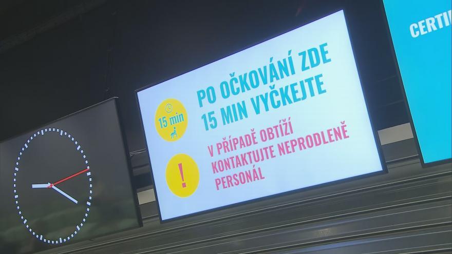 Video 90' ČT24 - Jak pokračuje očkování proti covid-19