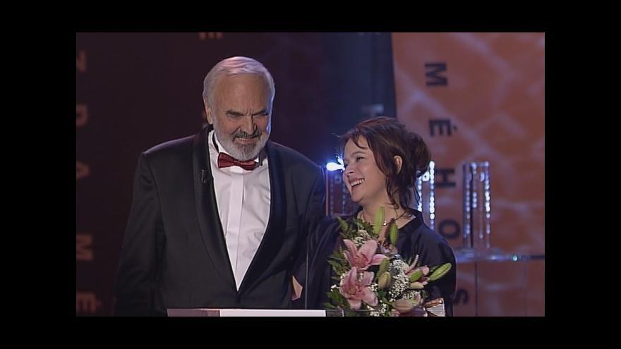 Video První místo Libuše Šafránkové v televizní anketě Hvězda mého srdce 2008