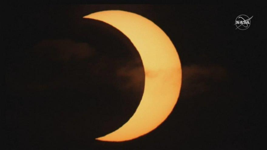 Video Zatmění slunce pohledem z USA, Kanady nebo Islandu