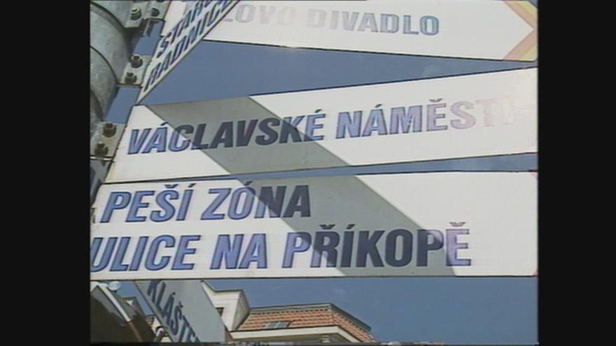 Video Začátek turistické sezóny v Praze