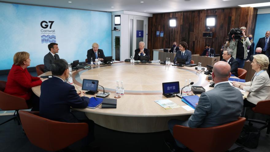 Video Horizont ČT24: Summit G7