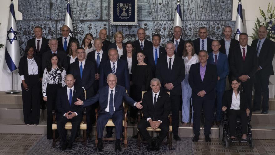 Video Události: Nová izraelská vláda