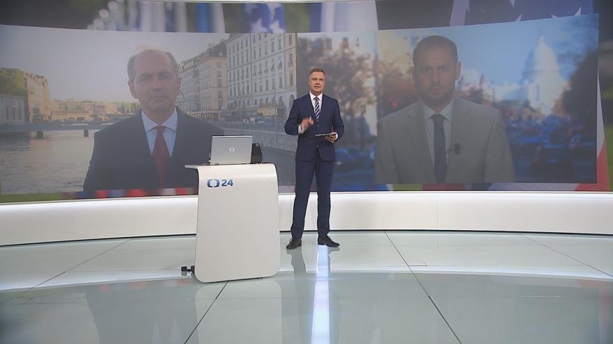 Video 90' ČT24: Setkání prezidentů Ruska a USA